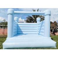 Wholesale White Wedding Bouncy Castle House , Wedding Bounce House from china suppliers