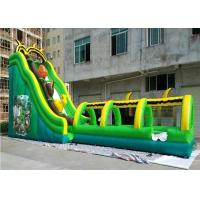 Quality Lovely 7M Height Bee Shape Giant Inflatable Water Slide With Pool for sale