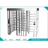 Wholesale Stainless Steel Automatic Turnstiles Security Soluction Full Height Turnstile from china suppliers