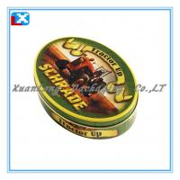 Wholesale oval shape sweet packing tin box from china suppliers