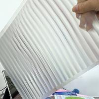 Wholesale PET 51X71CM 75LPI 0.45mm Lenticular Sheet with super transpancy for making Lenticular 3D Cards by UV printer in Spain from china suppliers