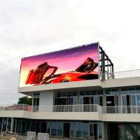 Wholesale Good visual effect digital commercial p10 led big outdoor advertising screen from china suppliers