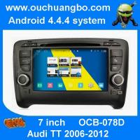 Wholesale Ouchuangbo Audi TT 2006-2012 multimedia gps radio S160 platform with BT phonebook AUX navi from china suppliers