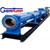 Wholesale I-1B series thick slurry pump /Single Screw Pump / food industry pump / metallurgy industry pump / chemical pump from china suppliers