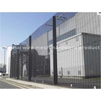 Buy cheap Powder Coated Anti Climb Security Fencing , Galvanized Wire 358 Mesh Fence from wholesalers