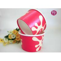 Wholesale Customize 8oz PE Coated Disposable Ice Cream Bowl With Dome Lid from china suppliers