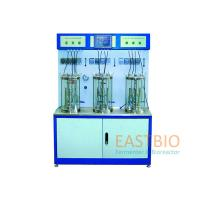 China Multiple Lab Scale Bioreactor Magnetic Stirred Glass Fermenter 4 Peristaltic Pumps for sale