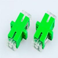 Quality Optical Fiber SM Simplex SC-APC Couplers With Crystal Anti-dust Cover Singlemode for sale