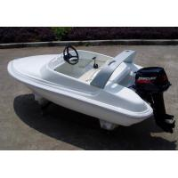 Wholesale Cruising high speed Simple Pleasure Yacht , outboard Engine Ocean Sailing Yachts from china suppliers