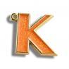 New Golden Metal Keychain / Fashion Letter Keychain Hanger Customization for sale