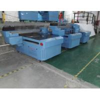 Quality UV Inkjet Printer Flatbed  2.5 x 1.3m , Voltage Adjusted Fabric Printing Machines for sale