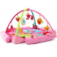 Wholesale Flower Happy Garden Pink Baby Play Gyms Baby Activity Play Mat from china suppliers