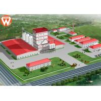 China With Steel Structure Design 20T/H Livestock Animal Feed Production Line on sale