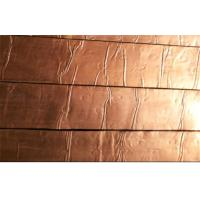 Wholesale Foil Covering Copper Roofing Shingle , Fish-scale Roofing Shingles from china suppliers