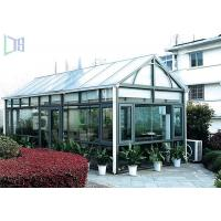 DIY Design Aluminium Frame Greenhouse Thermal Break Insulation System