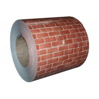 Wholesale ASTM A653 SGCC Galvanized Color Coated Steel Coil HDP Painted With Brick Colored from china suppliers