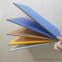Wholesale OEM Service Spetra Fireproof Aluminum Composite Panel Decorative Material from china suppliers