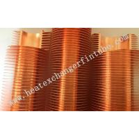 China B111 C12200 OD 1'' Tube Carbon Steel / Copper Extruded Finned Tubes on sale