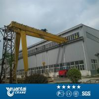 Yuantai Single/Double Girder Semi Gantry Crane with Electric Hoistf actory supplier price for sale