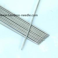 Wholesale Double Pointed stainless steel Straight knitting needles from china suppliers
