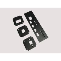 Wholesale CNC Machining Aluminum Parts Front Audio Panel With Milling ISO from china suppliers
