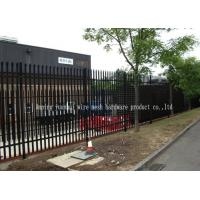 Buy cheap Triple Pointed Steel Picket Palisade Fencing And Gates For Train Station Easily Assembled from wholesalers