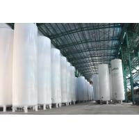 Wholesale Vacuum Powder Insulated Storage Tank , LC2H4 / LH2 / LOX Storage Tank from china suppliers