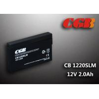 Wholesale 12V 1.8Ah CB1220SLM  Non - Spillable charging lead acid batteries Maintenance Free from china suppliers