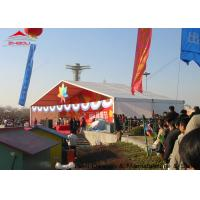 Double PVC Opaque Self-Cleaning Cloth Outdoor Event Tent For 1000 People