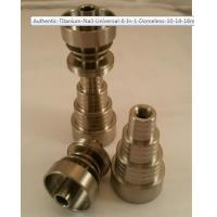 Quality Titanium Nail Universal 6 In 1 Domeless 10, 14, & 18mm Male/Female for sale