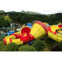 Wholesale Customized Fiberglass Classical Tantrum Valley Water Park Rides 1 Year Waranty from china suppliers