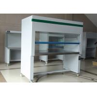 Wholesale 800W Stainless Steel Vertical Portable Clean Rooms , Laminar Flow Clean Bench from china suppliers