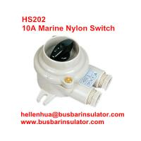 Wholesale 10A marine nylon electrical connectors HS201 boat switch power watering switch from china suppliers