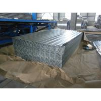 Wholesale 0.15-1.5mm Thickness Galvanized Corrugated Roofing Sheet , ASTM A653 from china suppliers