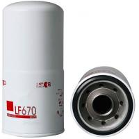 Buy cheap Auto parts oil filter Brand new Engine parts Truck Lube Spin On Oil Filter LF670 from wholesalers