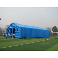 Wholesale Commercial Blue Color Inflatable Tent / Inflatable Warehouse Tent for Storage from china suppliers