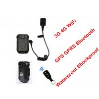 Wholesale Law Enforcement Wifi Body Camera , Body Worn Video Camera High Resolution from china suppliers