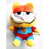 China stuffed Garfield plush toy cat cool model have shine words bright looks loverly model for on sale