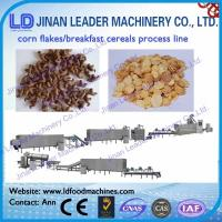 Wholesale Corn flakes breakfast cereals snack process line from china suppliers