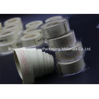 Wholesale High Temperature Tolerance Kevlar Fabric Tape , Aramid / Flax Garniture Belt Tape from china suppliers