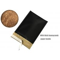China Honeycomb Paper Padded Mailers Black Self Seal Padded Mailing Envelopes for sale