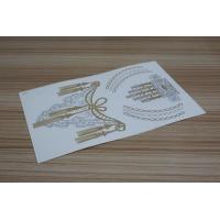 Wholesale Gold and Silver foil temporary tattoo from china suppliers