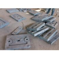 Wholesale Alloy Steel Castings Air Hardened Steel Discharge End Plate for Mills from china suppliers
