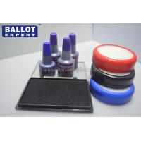 Quality No Smell Office Flash Stamp Pad Ink Colorful With Plastic Bottle for sale