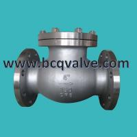 Quality ANSI 150LB Flanged Stainless Steel Swing Check Valve for sale
