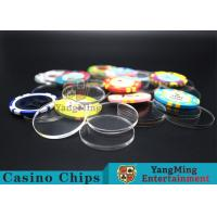 Wholesale Acrylic Plastic Separate Customized Poker Chips For Gambling Dedicated Using from china suppliers
