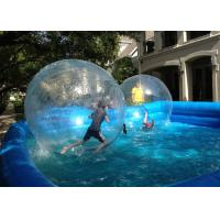 Quality Outdoor Swimming Pool For Kids , 0.9mm PVC Walking Ball For Inflatable Swimming for sale