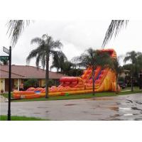 Quality Giant  Super Adventure Inflatable Water Slide Clearance With CE for sale