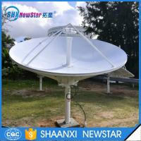 Wholesale 8feet c or ku band high gain ring focus RxTx telecommunication antenna from china suppliers