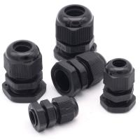 Wholesale Water Proof Outdoor Cable Accessories , Black Cable Gland Connector from china suppliers